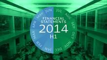 Jyske Bank's Interim Financial Report 1st half 2014 - in detail