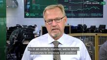 Jyske Bank reports a loss of DKK 780m for the first quarter